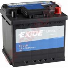 EXIDE CLASSIC 44AH 360A R+
