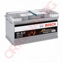 BOSCH S5 AGM 95AH 850A R+