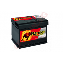 BANNER POWER BULL 60AH 540A R+