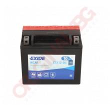 EXIDE BIKE AGM YTX12-BS 10AH 150A 12V L+