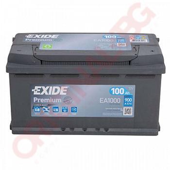 EXIDE PREMIUM 100AH 900A R+