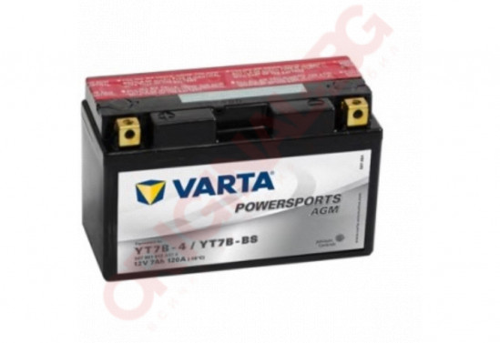 VARTA POWERSPORTS AGM YT7B-BS 7AH 120A 12V L+
