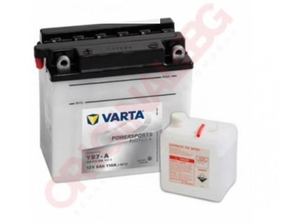 VARTA POWERSPORTS FRESHPACK 8AH 110A 12V L+