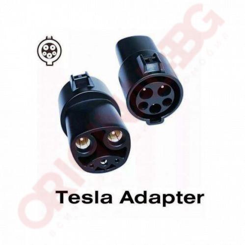 Адаптер Тип 1 към Тесла US конектор | Duosida