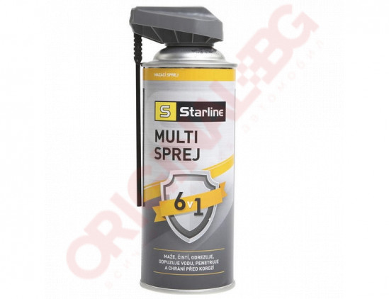 STARLINE МУЛТИ СПРЕЙ 6В1 400ml