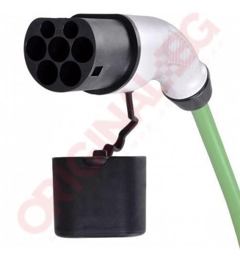 Адаптер Тип 2 към Тип 1 | 32 А 7,4 kW | зелен | 0,3м