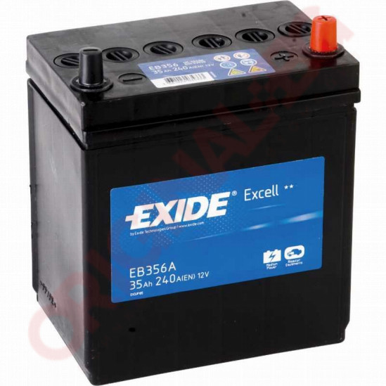 EXIDE EXCELL 35AH 240A R+