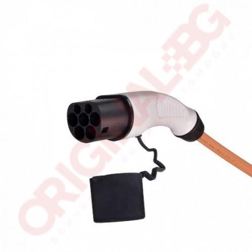 Кабел за зареждане Тип 2 към Тип 2   32 А 7,4 kW   оранжев   5м