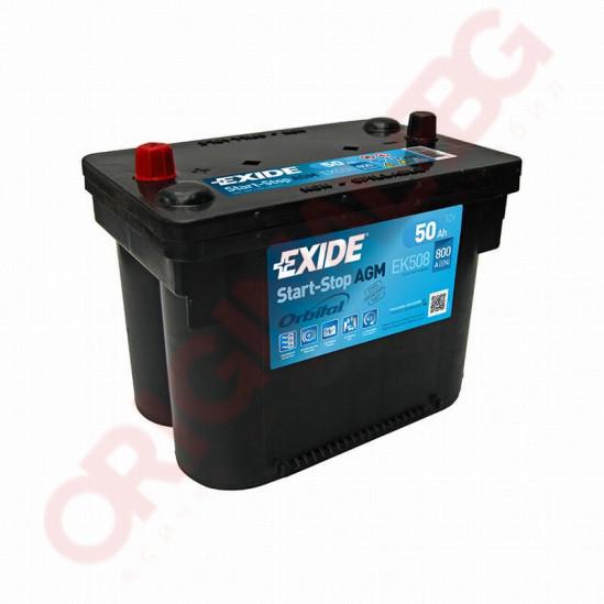 EXIDE START STOP AGM 50AH 800A L+