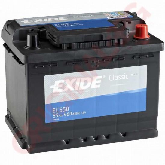 EXIDE CLASSIC 55AH 460A R+