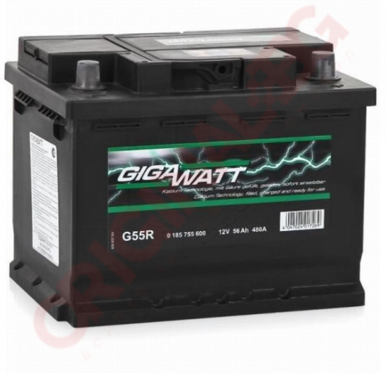 GIGAWATT 56AH 480A R+