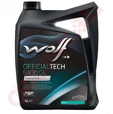 WOLF OFFICIALTECH 5W30 C4 4L