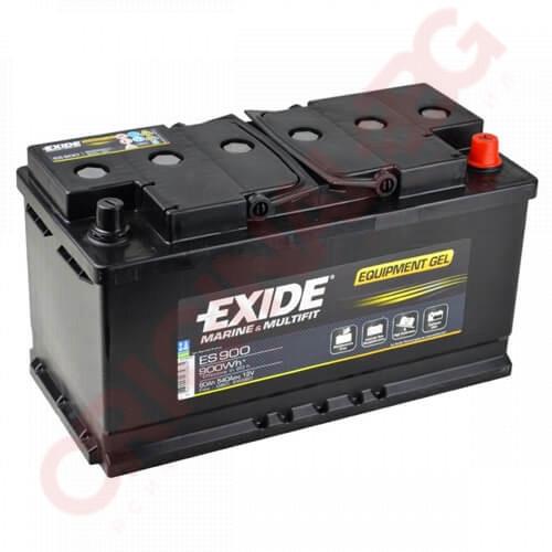 EXIDE EQUIPMENT GEL 80AH 540A R+