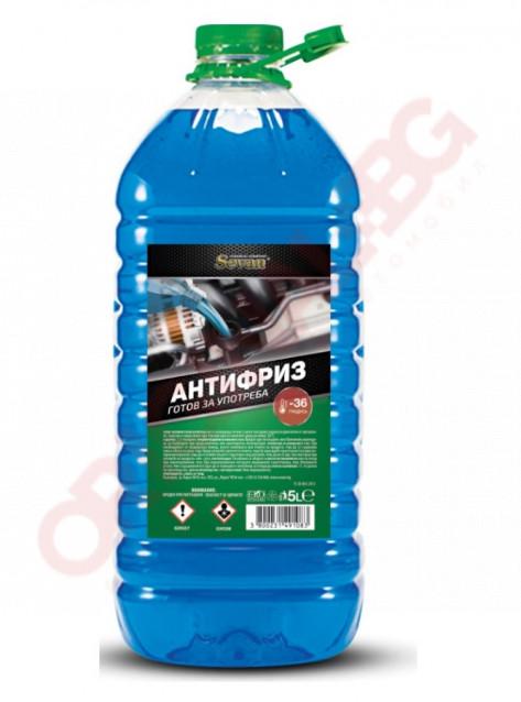 АНТИФРИЗ SEVAN BLUE -36°С 5L