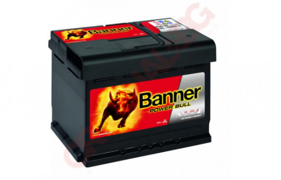BANNER POWER BULL 60AH 540A R+