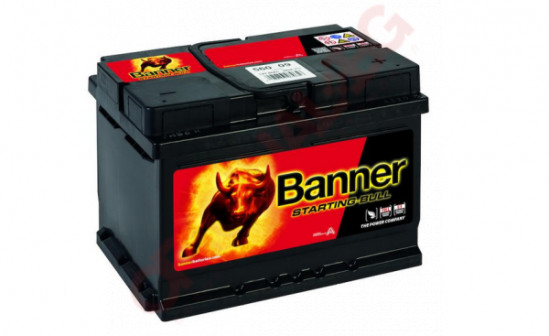 BANNER STARTING BULL 60AH 480A R+