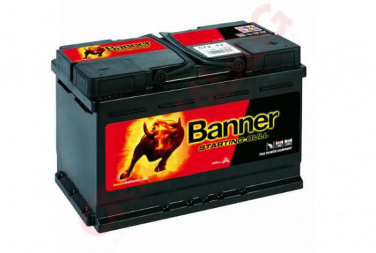 BANNER STARTING BULL 72AH 650A R+