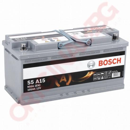 BOSCH S5 AGM 105AH 950A R+