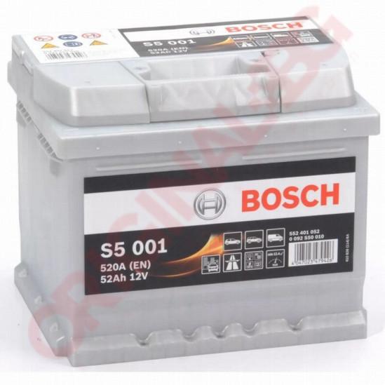 BOSCH SILVER S5 52AH 520A R+