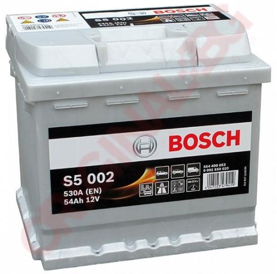 BOSCH SILVER S5 54AH 530A R+