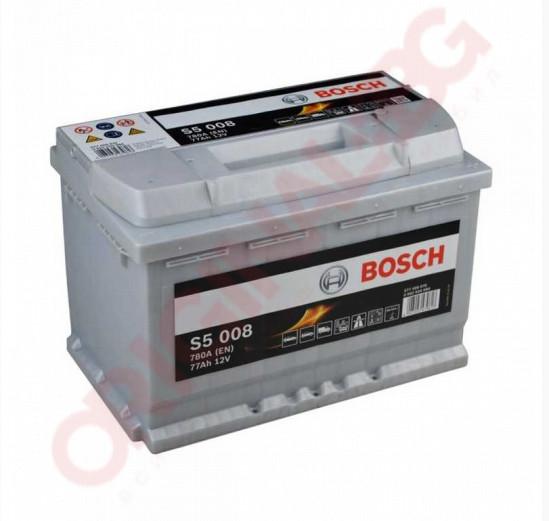 BOSCH SILVER S5 77AH 780A R+