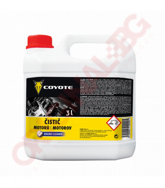 COYOTE- Прeпарат за почистванe на двигатeли, 3l