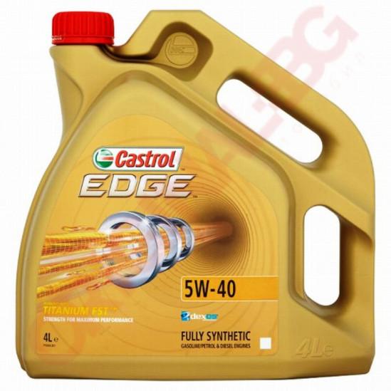 CASTROL EDGE FST TITANIUM 5W40 4L