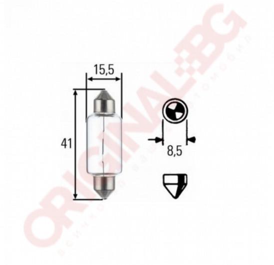 HELLA C21W 12V  SV8,5