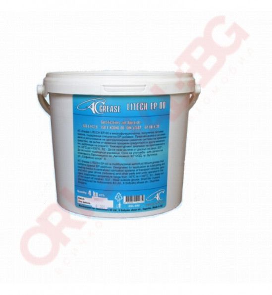 AC Grease LITECH EP-00 -4kg.