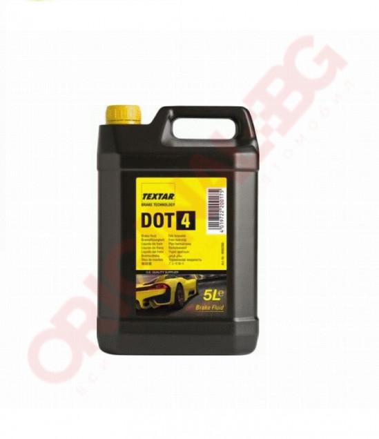 Спирачна течност TEXTAR DOT4  5L