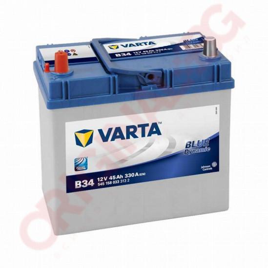 VARTA BLUE DYNAMIC 45AH 330A L+ JIS