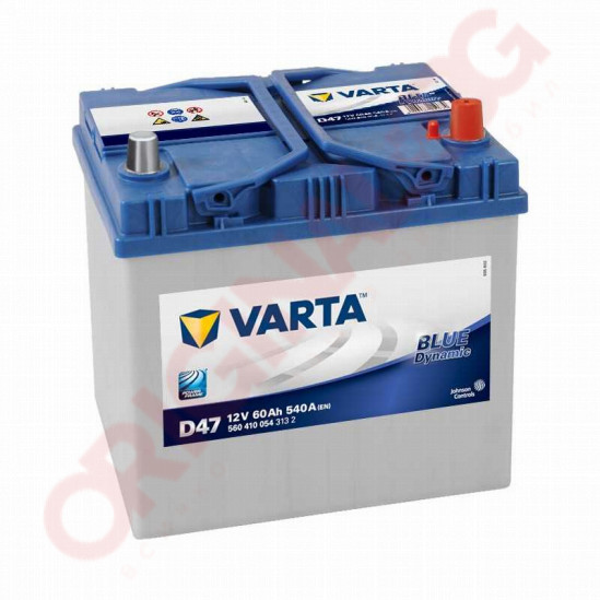 VARTA BLUE DYNAMIC 60AH 540A R+ JIS
