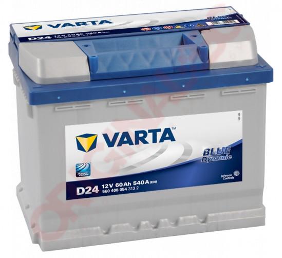 VARTA BLUE DYNAMIC 60AH 540A R+