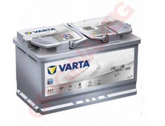 VARTA SILVER DYNAMIC AGM 80AH 800A R+