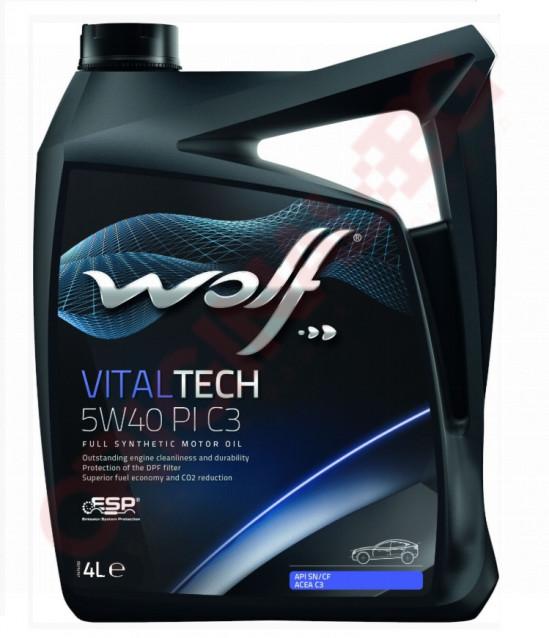 WOLF VITALTECH 5W40 PI C3 4L